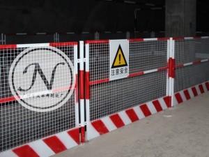 中铁建八局临边护栏