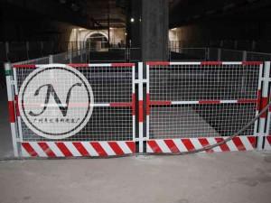 地铁施工基坑护栏围网使用图 (1)