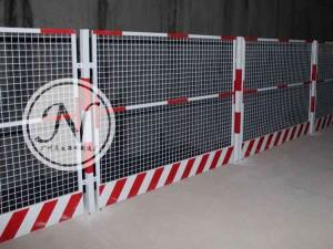 地铁施工基坑护栏围网展示图