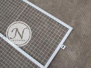 地铁施工基坑护栏围网细节图 (1)