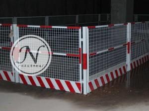 地铁施工基坑护栏围网细节图 (2)