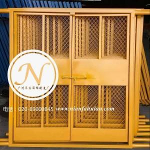 工地护栏人货梯安全防护门展示图