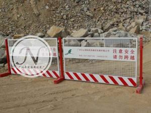 机场建设临时基坑围栏使用图 (1)