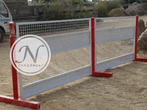 机场建设临时基坑围栏使用图 (2)