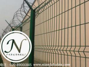 三角折弯护栏