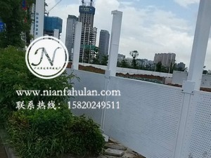 珠海围挡 冲孔板护栏 施工防护栏 工地围栏 广州年发筛网厂家供应 (100)
