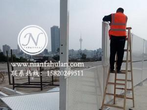 珠海围挡 冲孔板护栏 施工防护栏 工地围栏 广州年发筛网厂家供应 (32)