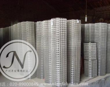 广州现货电焊网镀锌批荡网