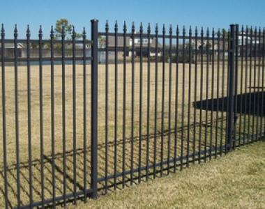 出口品质热镀锌铁艺栏杆枪头锌钢护栏