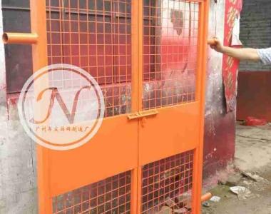 建筑施工用电梯楼层防护门