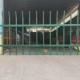 虎门大道喷涂绿色道路折弯绿化护栏