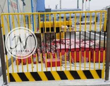 竖管组合式基坑防护栏