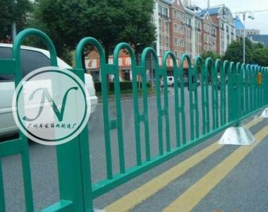 烤漆绿色京式护栏
