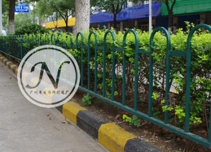 市政花池草坪铁艺围栏