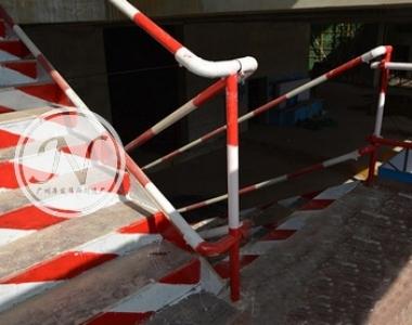 施工现场楼梯临边护栏立柱