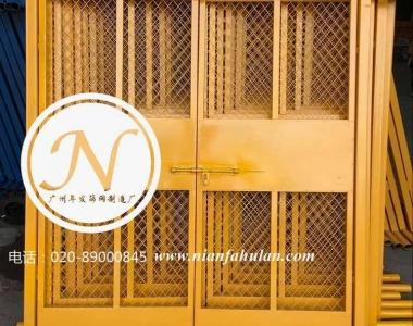 工地铁丝网护栏人货梯安全防护门