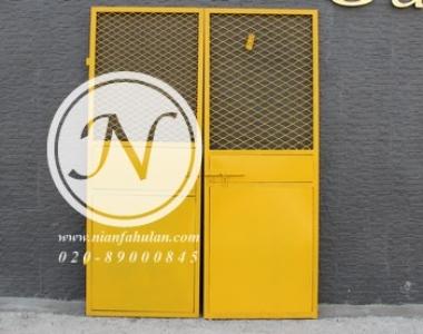施工安全防护–人货电梯门