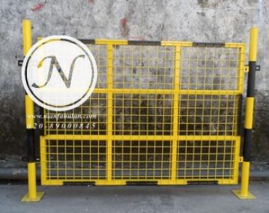 框架隔离基坑防护栏