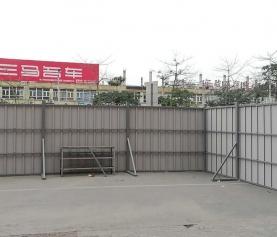 广州钢结构围蔽围挡/广州市政新式钢板围挡A6